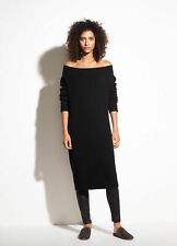W194 NWT VINCE OFF SHOULDER WOOL CASHMERE WOMEN SWEATER DRESS SIZE XS,S,M $395