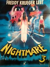 plakat freddy krueger a nightmare on elm street 3 robert englund horror poster