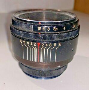Helios 58mm f2 manual focus / aperture M42 mount lens ...but...