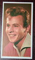 Mark Wynter    Pop Singer   Original Early 1960's  Photo Card  CAT F
