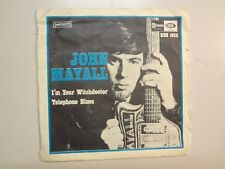 "JOHN MAYALL & BLUESBREAKERS w/CLAPTON: I'm Your Witchdoctor-Sweden 7"" 1967 PSL"