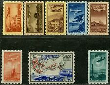 CCCP. Sc. C83-90. SK. 1364-71. CV $200+. Russian air routes set. MNHOG.