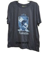 Harry Potter Ravenclaw T-shirt Women's Grey Tee Casual Summer Tank Top Primark