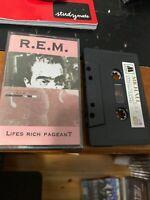 R.E.M. Life's Rich Pageant Michael 642 Cassette Tape