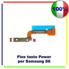 FLAT FLEX CAVO TASTO ACCENSIONE POWER BUTTON ON/OFF PER SAMSUNG GALAXY S6 G920F