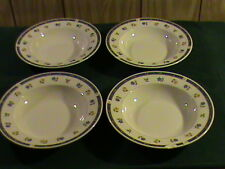 Lot 4 Anchor Hocking Savannah Betty St. John Soup / Cereal Bowls! Lightly used