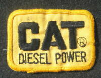 "CAT DIESEL POWER EMBROIDERED SEW ON PATCH CATERPILLAR UNIFORM 3"" x 2"""