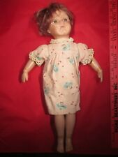 "ANTIQUE 1911 ALBERT SCHOENHUT 17""WOODEN DOLL 1872-1935 PAT JAN 17TH 1911 VINTAGE"