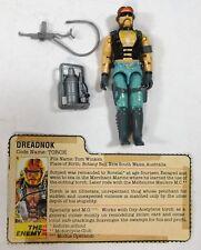 G.I. Joe GI Joe Cobra Dreadnok TORCH (v1) 1985 Complete (Loose)