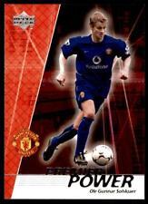 Upper Deck Manchester United 2002-2003 - Solskjaer Premier Power No.52