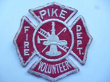 US FIRE BRIGADE PATCH  PIKE VOLUNTEER.