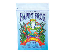 FoxFarm Happy Frog Steamed Bone Meal Fertilizer, 4 lbs