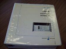 HP 3745A/B Selective Level Measurement Set Service Manual