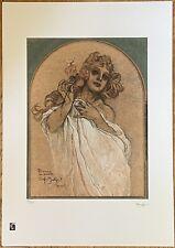 Limited Edition Alphonse Mucha Print