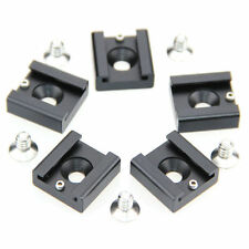 "5Pack 1/4"" Hot Cold Shoe Mount for DSLR Rig Light Microphone Camera Cage"