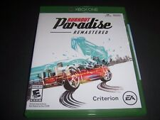 Replacement Case (NO  GAME) Burnout Paradise Remastered XBOX ONE 1 XB1 Box