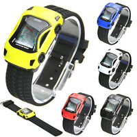 SKMEI Racing Sports Car Watch Multicolor Flash LED Digital NEW Gift Christmas