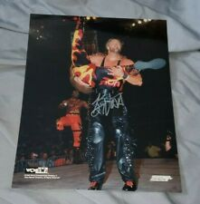 Kevin Nash autographed WCW/nWo PhotoFile Publicity Photo w/ COA
