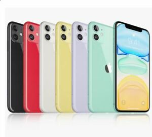 """Apple iPhone 11 6.1""""Display 64GB 4G LTE (Sprint, T-Mobile) Smartphone Open Box"""