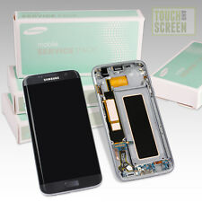 100% Original Samsung Galaxy S7 Edge sm-g935f Pantalla Negro
