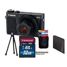 CANON G9X Mark II Schwarz + 32GB KOMPLETTSET! ****