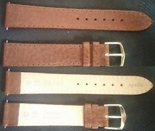 Original Cartier Apollo Leather Brown strap band 18mm-16mm w/buckle NEW ! L@@K !