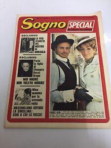 Sogno Special Un Giornale Nel Giornale 1971  FRANCO NERO