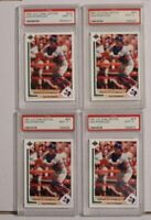 1991 Upper Deck Final Edition Ivan Rodriguez #55F PSA 9 Rookie Lot of 4!