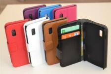 Credit Card ID Cash Leather Wallet Case Cover Stand For Google LG Nexus 4 E960