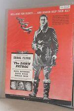 """1939 Movie Film Ad Clipping ~ """"The DAWN PATROL"""" Errol Flynn"""
