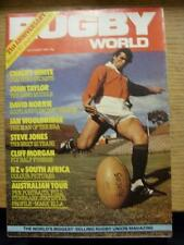 01/10/1981 Rugby World Magazine: October Edition - Complete Issue of the monthly