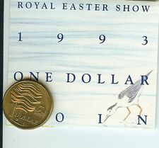 1993 $1 COIN LANDCARE - Royal Easter Show Sydney