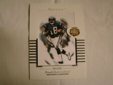 2002 Fleer Focus Donald Caldwell Materialistic Home Box Topper Chargers