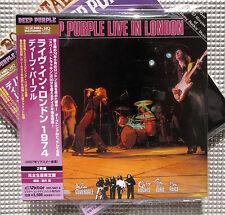 Deep Purple , Deep Purple Live In London ( 2 CD Paper Sleeve Japan )