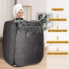 Portable Folding Home Steam Sauna Spa Loss Weight Detox Therapy Bodyslim Tent-Us