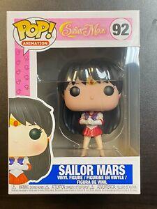 Funko POP Sailor Moon Sailor Mars #92 In Hand Mint Box