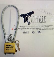 Cable Gun Lock - by Project ChildSafe with 2 Keys
