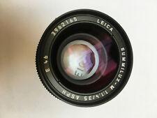 Near mint- Leica Summilux-M 35mm f/1.4 ASPH E46 11874