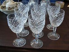 """WATERFORD COMERAGH 8 WATER GLASSES 7"""""""
