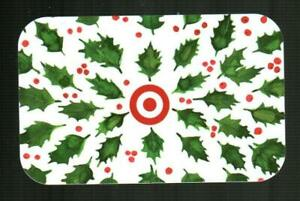 TARGET Holly 2020 Gift Card ( $0 ) [ 0620 4550 ]