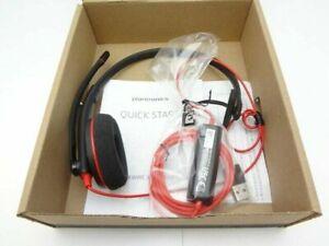 PLANTRONICS BLACKWIRE C3210 Mono USB-A Standard UC Headset 209744-22 NEW IN BOX