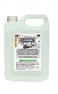 Garage Workshop Floor Concrete Oil Grease Cleaner 2 Litre Concentrated GRIME-X