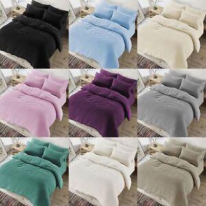 Teddy Bear Bedding Duvet Set Quilt Cover Extra furry Warm, Fluffy & Soft Warm