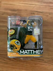 NFL Series 28 Clay Matthews Green Bay Packers Action Figure McFarlane Toys