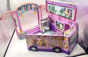BRITNEY SPEARS Doll Concert Tour Bus Playset And Stage Diorama House Studio 2001
