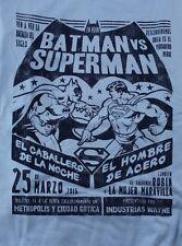 Funko DC Comics Batman v Superman Medium Blue T-Shirt (New) LEGION OF COLLECTORS