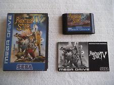 Phantasy Star 4 Sega Mega Drive OVP completo con instrucciones