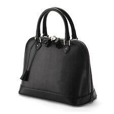 Aspinal of London Hepburn Bag in Black Lizard