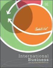 International Business by Charles W. L. Hill (2012, Hardcover) 9th Edition