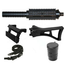 Tactical Barrel+Stock+Sling+TacCap Fits Tippmann A5  all models